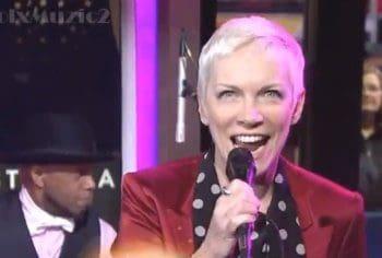 Annie Lennox - GMA I Put A Spell On You
