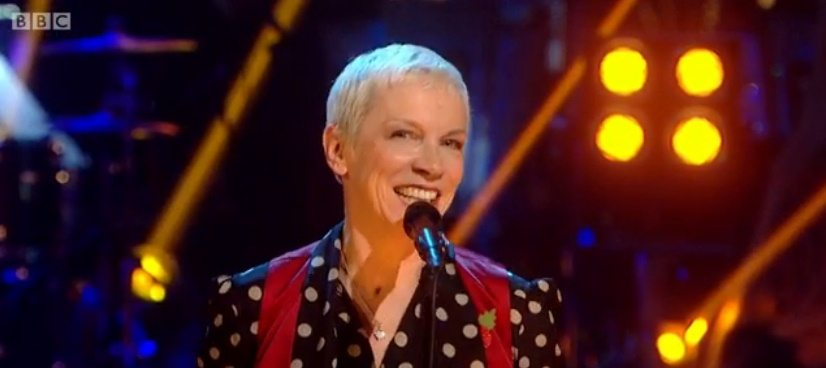 Watch Annie Lennox on Strictly Come Dancing performing I Put A Spell On You on the BBC iPlayer (UK Only)