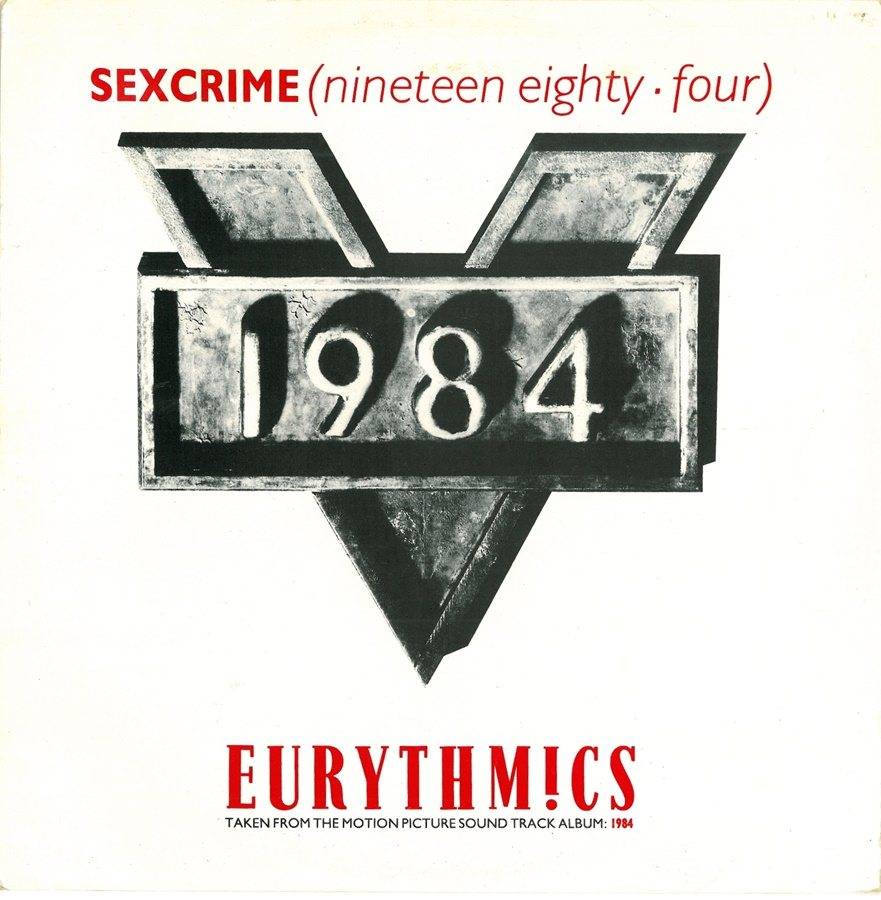 Chart History for 1984 (For The Love Of Big Brother), Sexcrime 1984 and Julia