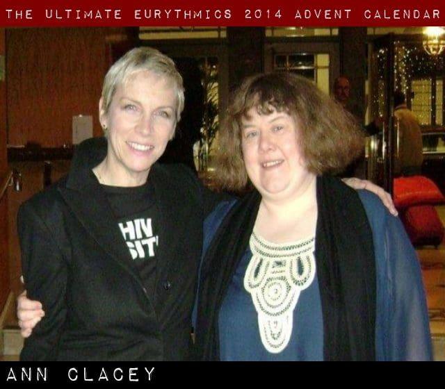 Day 18 – Ultimate Eurythmics Advent Calendar 2014 – Anne Clacey