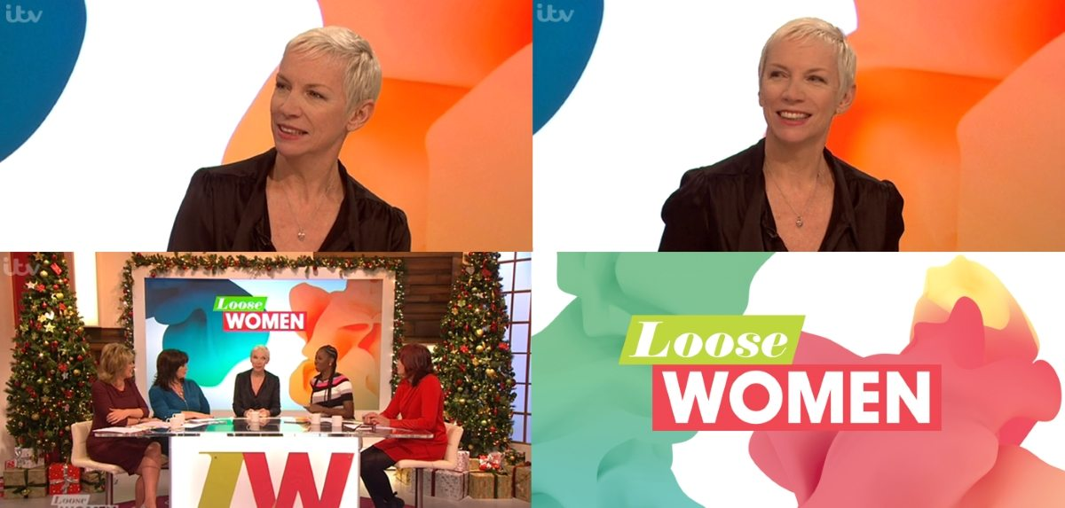 UK viewers can watch Annie Lennox's interview on ITV's Loose Women for the next 6 days