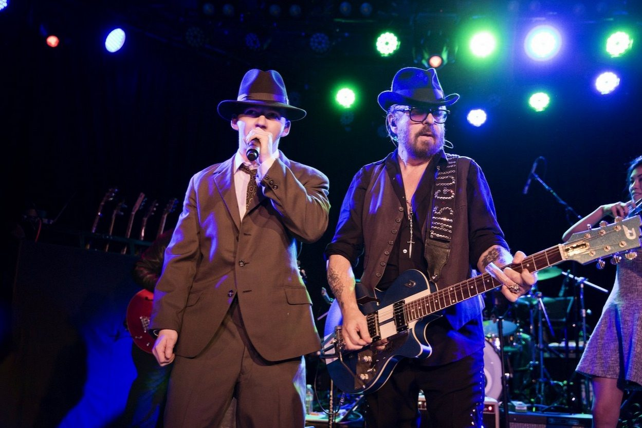 Dave Stewart rocked The Roxy in LA with a roster of fresh new talent and legendary musicians