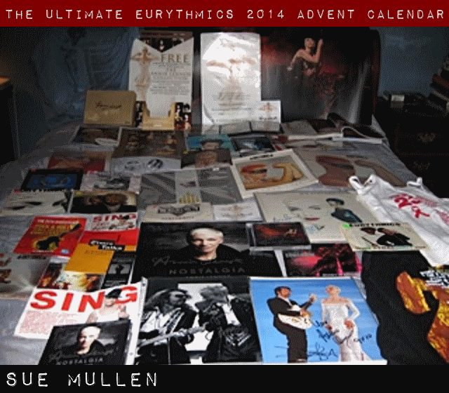 Day 10 – Ultimate Eurythmics Advent Calendar 2014 – Sue Mullen