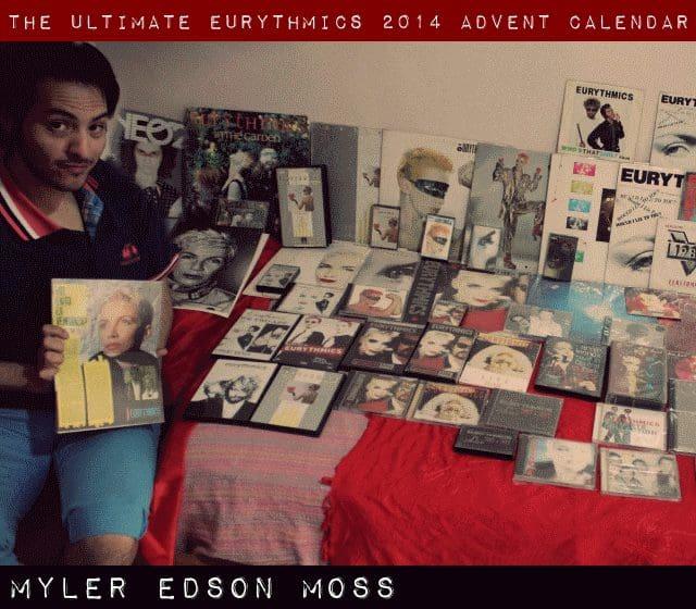 Day 12 – Ultimate Eurythmics Advent Calendar 2014 – Myler Edson Moss