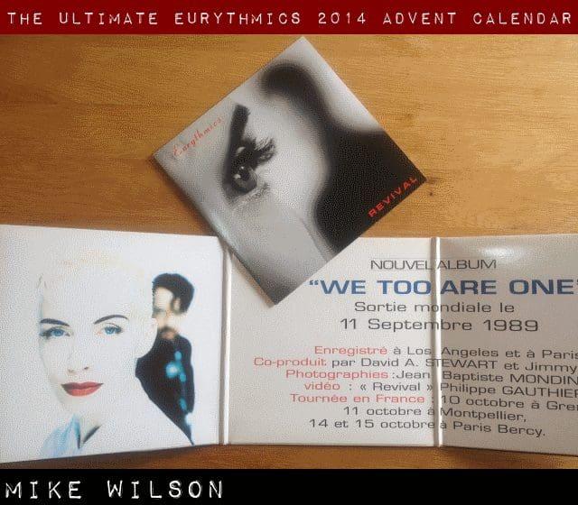 Day 13 – Ultimate Eurythmics Advent Calendar 2014 – Mike Wilson