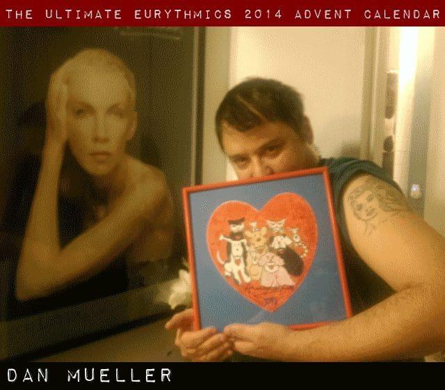 Day 9 – Ultimate Eurythmics Advent Calendar 2014 – Dan Mueller