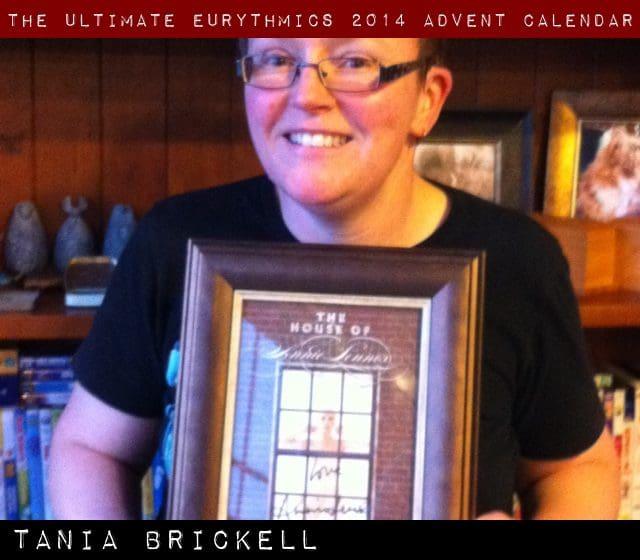 Day 21 – Ultimate Eurythmics Advent Calendar 2014 – Tania Brickell