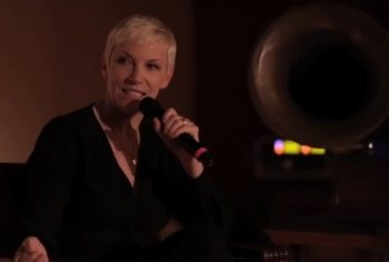 Annie Lennox - Nostalgia Listening Party - Hollywood Cemetry