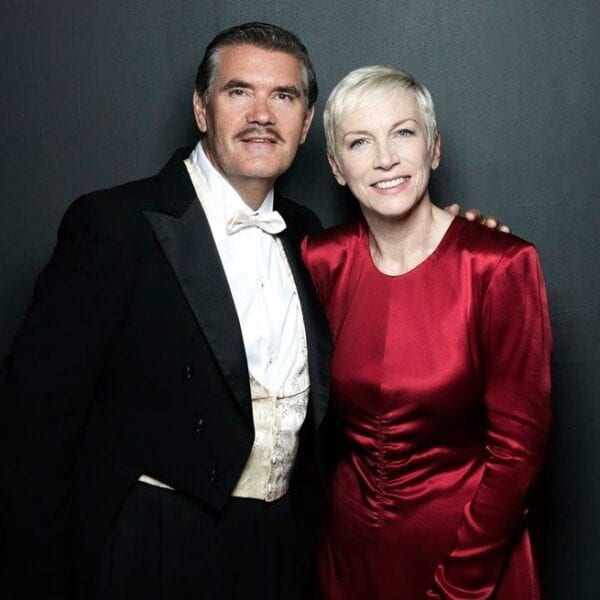 Annie Lennox and Mike Stevens