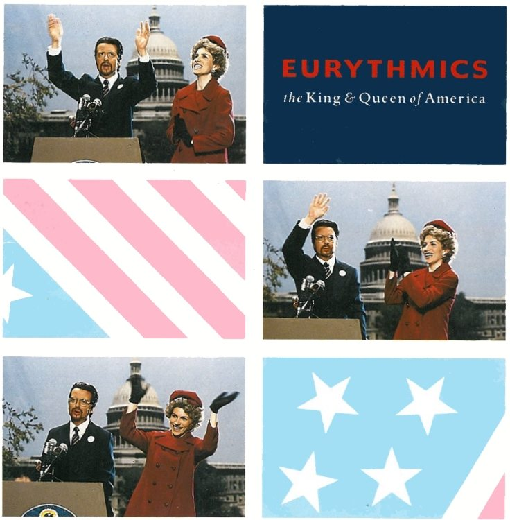 "The Eurythmics single ""The King And Queen Of America"" was released 25 years ago today"