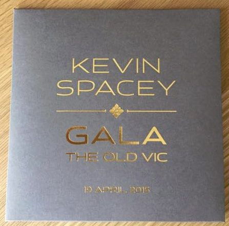 Annie Lennox will be performing in London tonight at The Kevin Spacey Gala Celebration evening at The Old Vic