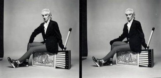 Strike a light it's Annie Lennox – A new gallery from an old Tourists photo shoot