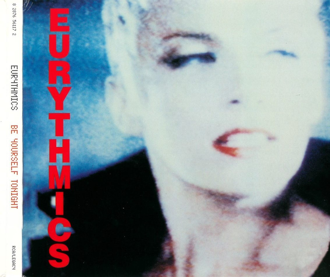 Image result for eurythmics be yourself tonight
