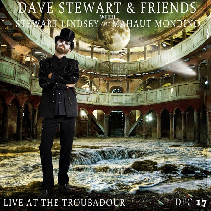Dave Stewart to play a Christmas show in LA on 17th December