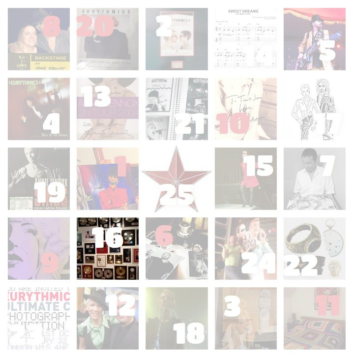 Ultimate Eurythmics Advent Calender 2015 – Day 16 – Claire McGibbon