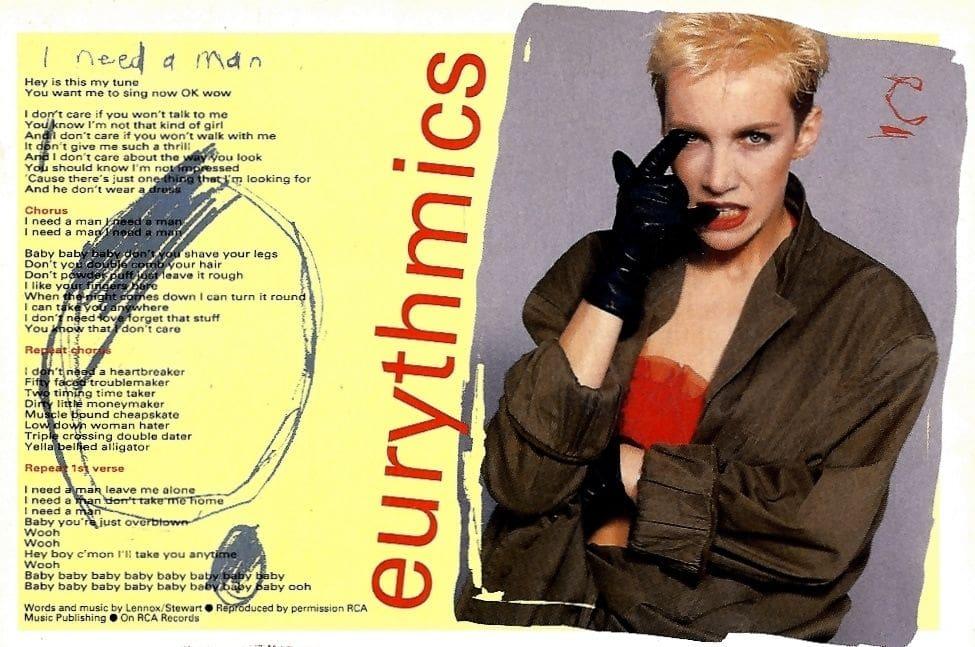 Lyric money maker lyrics : Eurythmics Memorabilia : Song Lyrics from Magazines | Ultimate ...