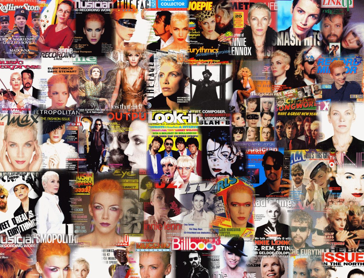 The Ultimate Eurythmics Magazine Archive – Starting today for at least a year!