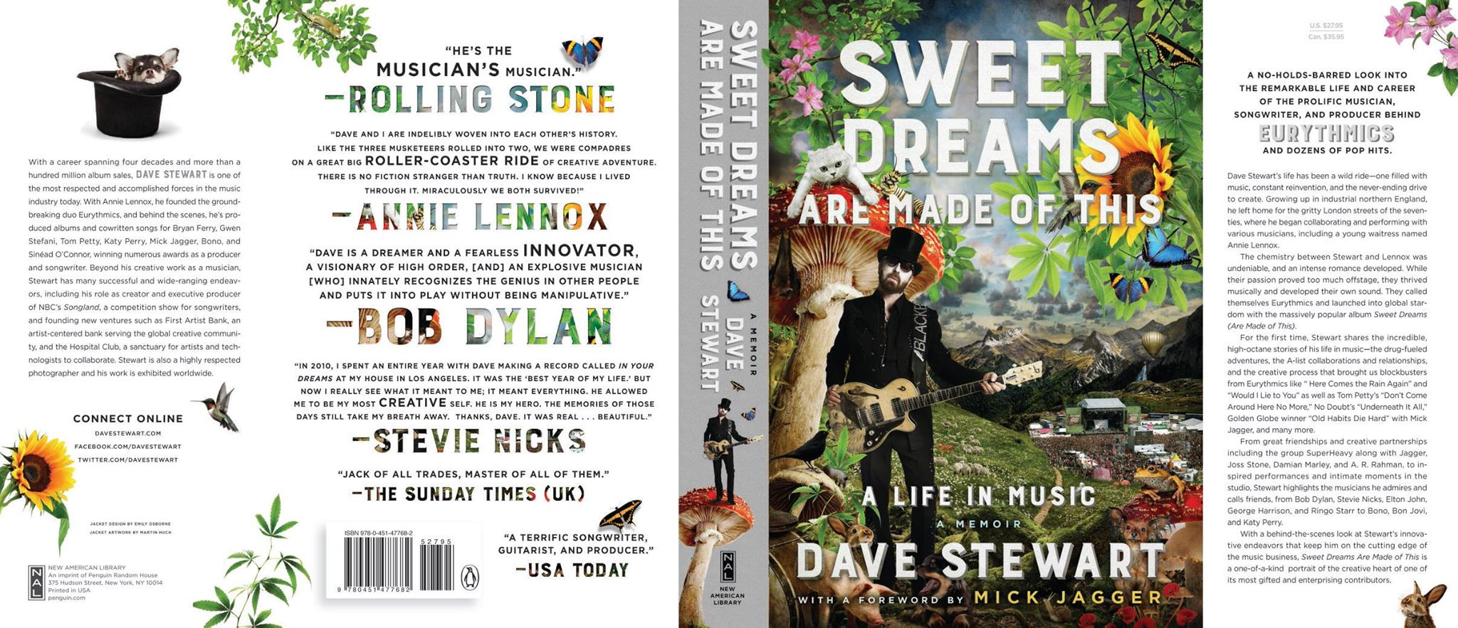 Dave Stewart announces 2 book signings in New York and Los Angeles