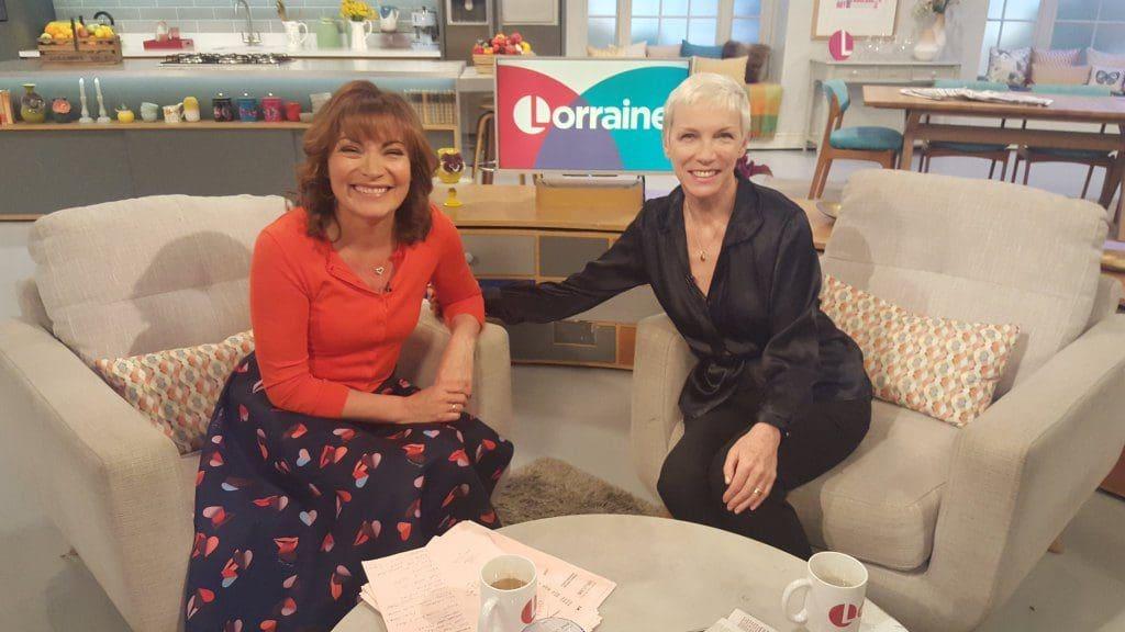 Watch Annie Lennox on Lorraine broadcast on 10th March