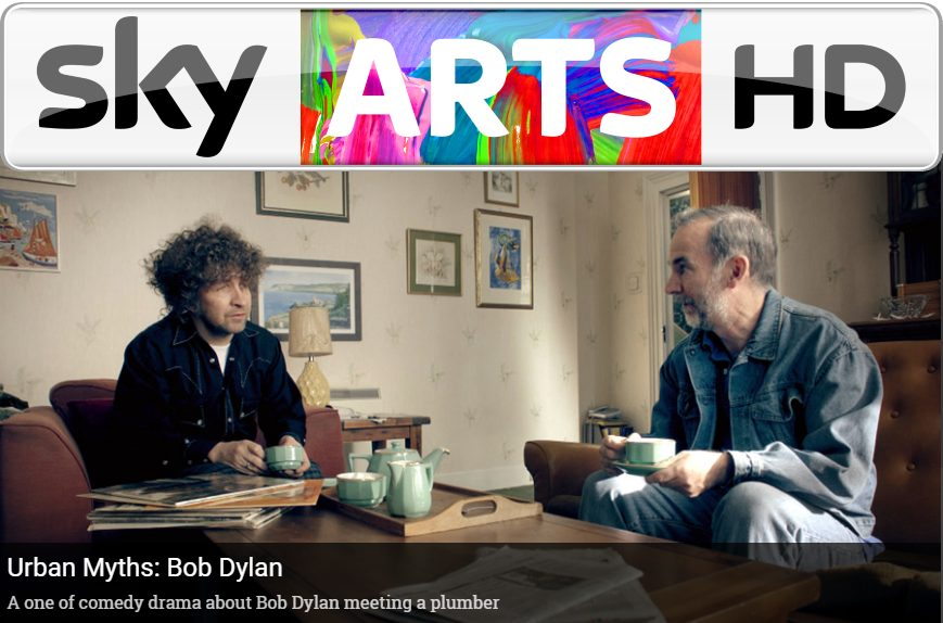 Urban Myths – A new TV show on Sky Arts – When Bob Dylan visited Dave Stewart