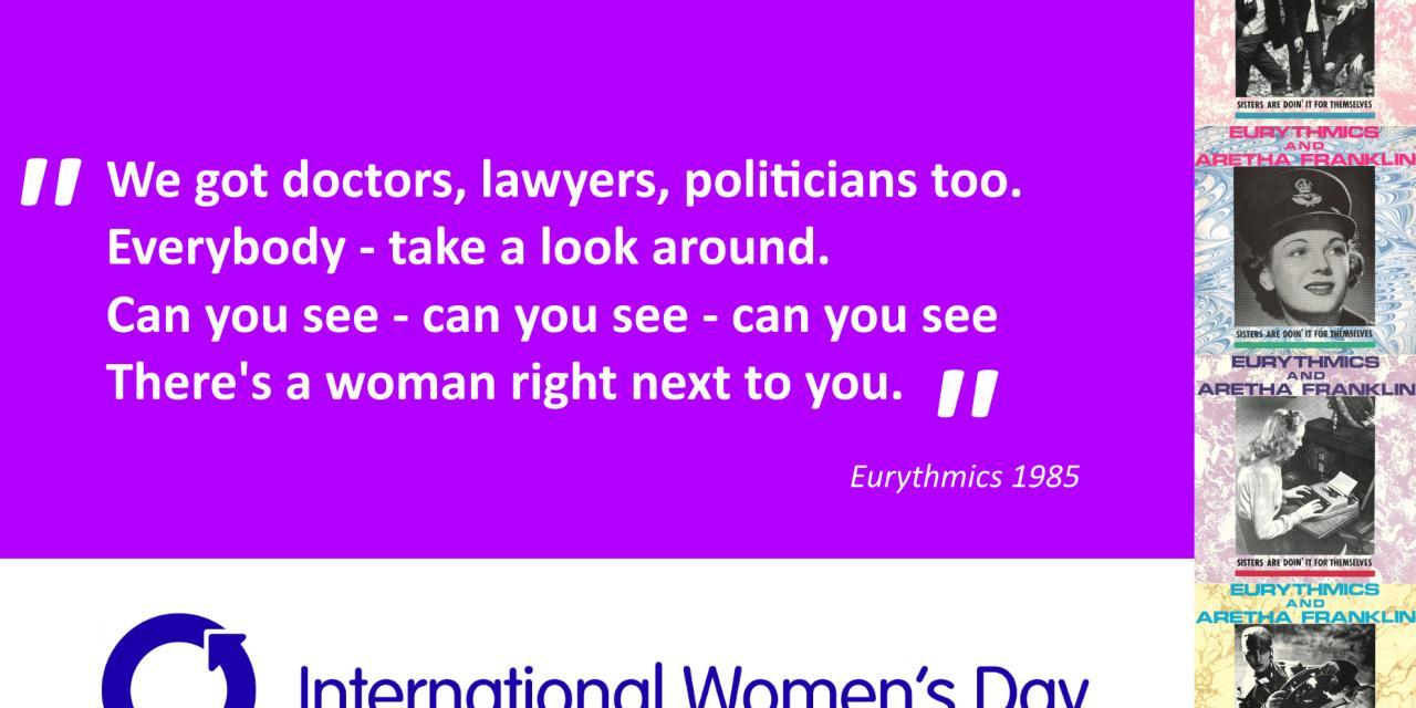 Happy International Womens Day! #sistersaredoinit #eurythmics