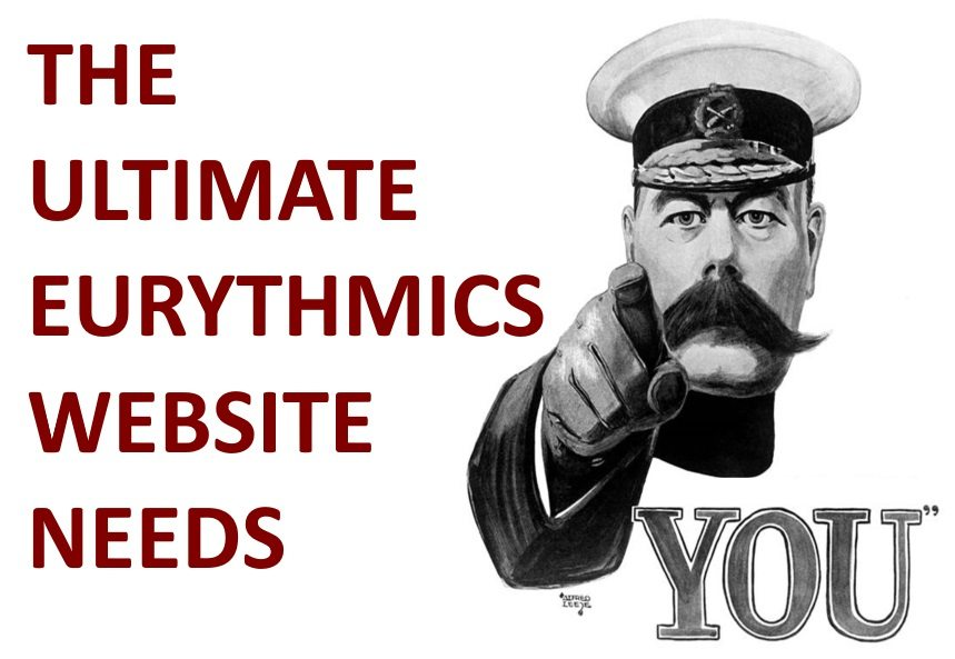 The Ultimate Eurythmics Website needs your help …