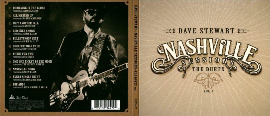 Dave Stewart Releases His New Album Today Nashville