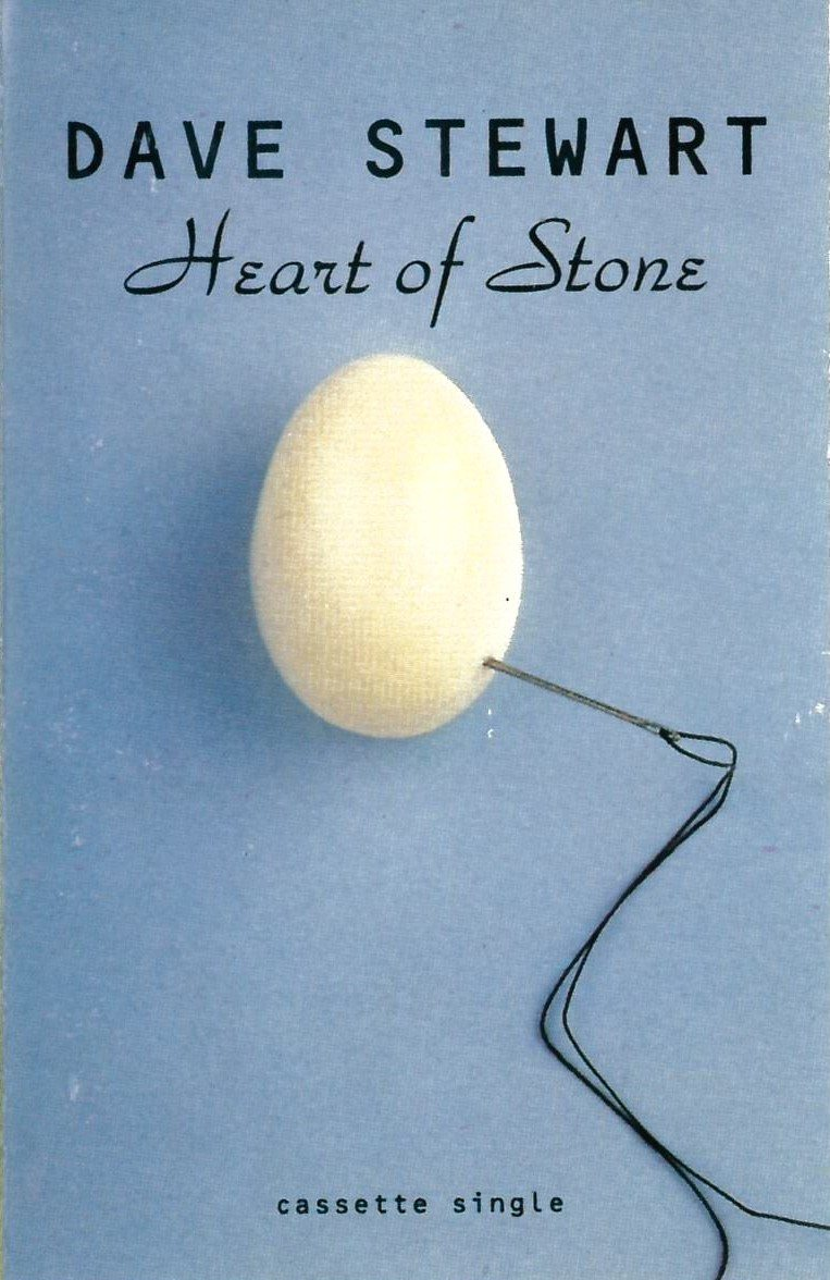 2617 Dave Stewart Heart Of Stone UK Cassette Single YZ845C 01