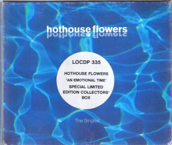 3166 - Dave Stewart And The Hothouse Flowers - An Emotional Time - UK - CD Single - LOCDP335