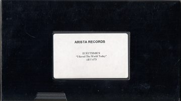 3177 - Eurythmics - Videopromo - I Saved The World Today - UK - Promo Video - None