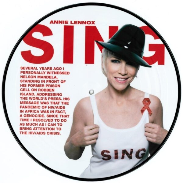 """3189 - Annie Lennox - Sing - UK - 12"""" Single Picture Disc - 88697284291"""