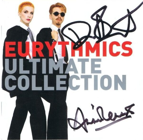 3195 - Eurythmics - The Ultimate Collection - UK - Promo CD - 82876748412