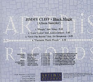 3199 - Eurythmics And Jimmy Cliff - Black Magic - USA - Promo CD - CDR