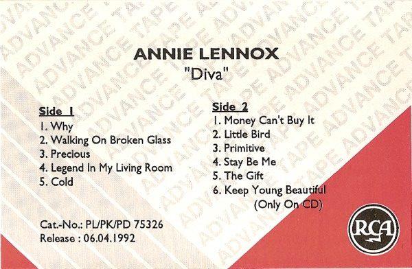 3209 - Annie Lennox - Diva - Germany - Promo Cassette - None