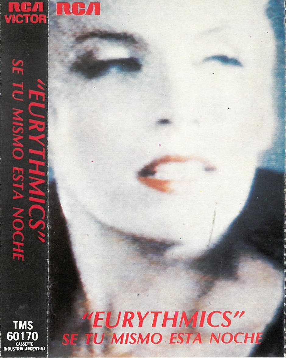 3217 - Eurythmics - Be Yourself Tonight - Argentina - Cassette - TMS 60170