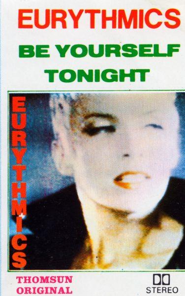 3218 - Eurythmics - Be Yourself Tonight - Saudi Arabia - Cassette - EN289