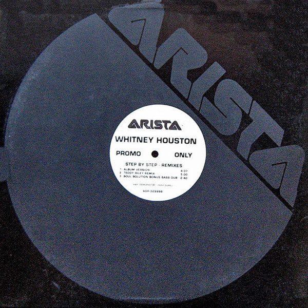 "3227 - Annie Lennox And Whitney Houston - Step By Step - USA - Promo 12"" Single - ADP3299"