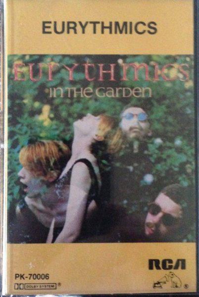 3228 Eurythmics In The Garden Canada Cassette PK 70006 01