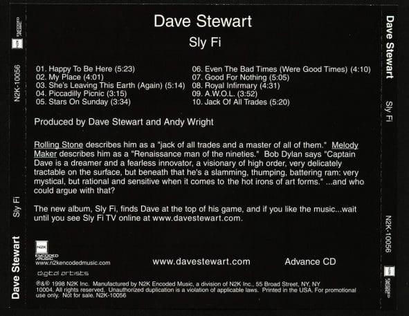 Dave Stewart - Slyfi - CD - USA