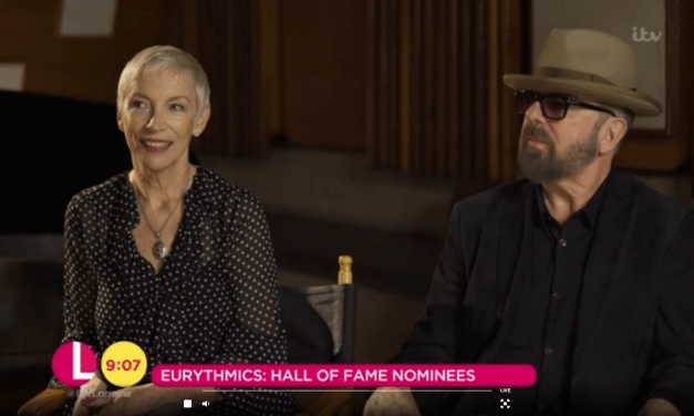 Eurythmics have appeared together on ITV's Lorraine Breakfast TV show this morning to talk about