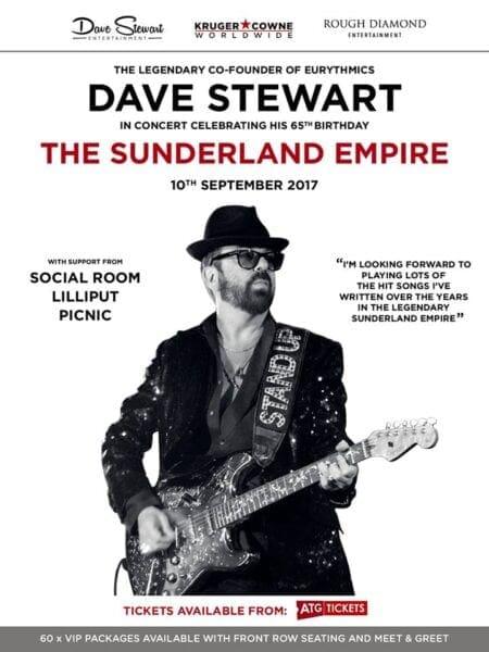 20170910 Memorabilia Tour poster Dave Stewart