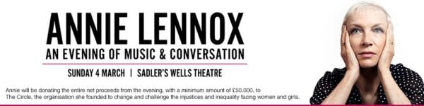 2018 03 04 Memorabilia Concert Adverts Annie Lennox