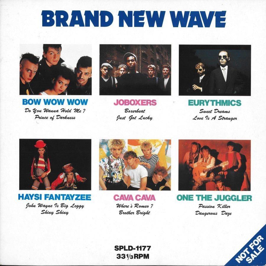 2370 - Eurythmics - Other Promos - Brand New Wave - Japan