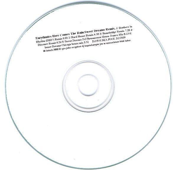 2563 - Eurythmics - Remixes - Here Comes The Rain Again - Poland