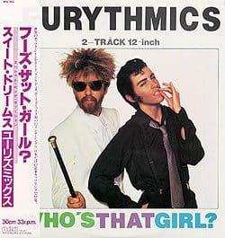 "4782 - Eurythmics - Whos That Girl? - Japan - Promo 12"" Single - RPS-1004"
