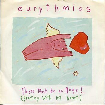 """4822 - Eurythmics - There Must Be An Angel (Playing With My Heart) - Italy - 12"""" Single - PT-40248"""