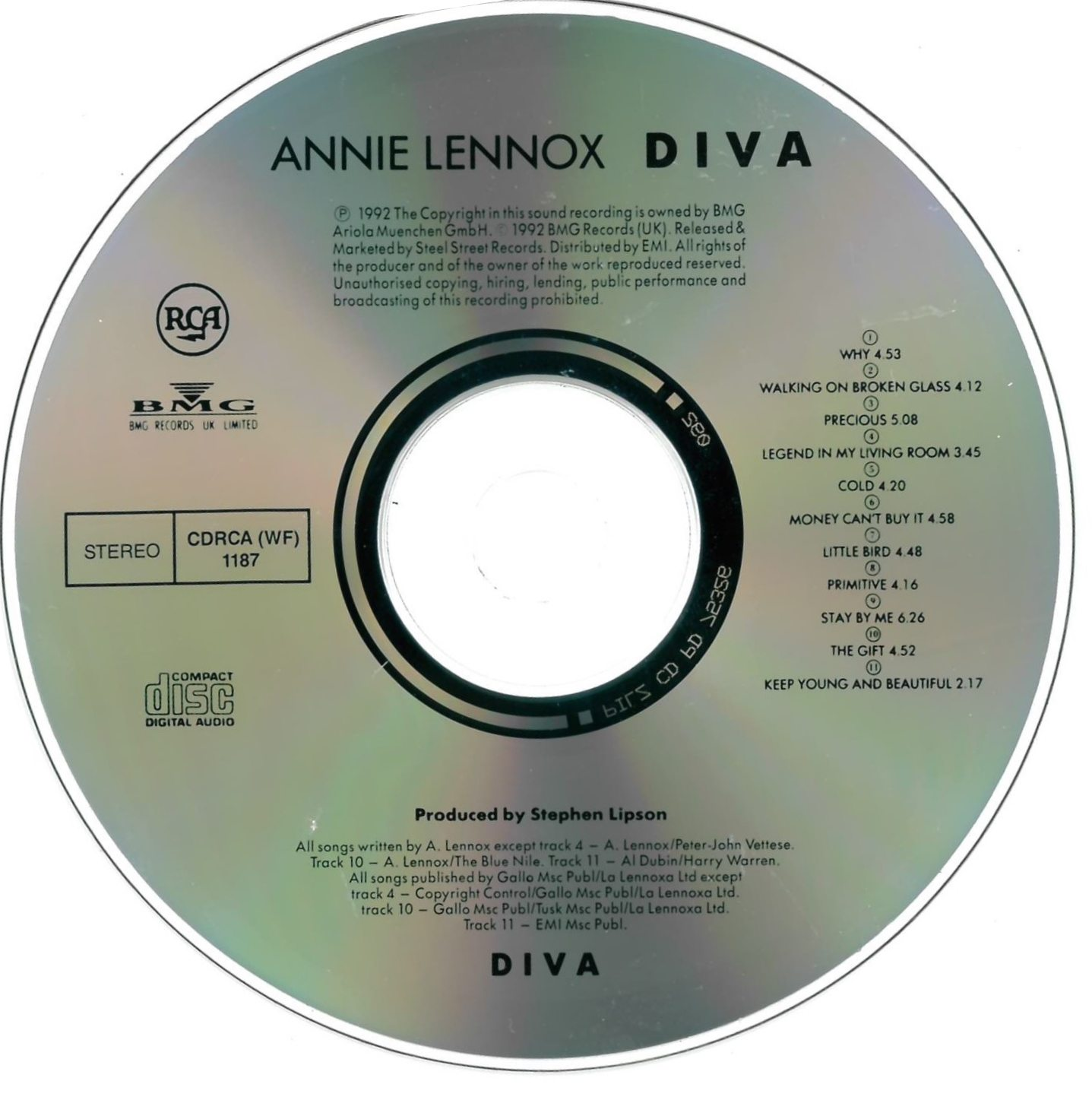Annie Lennox Legend In My Living Room: South Africa