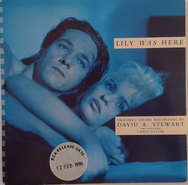 """5065 - Dave Stewart And Candy Dulfer - Lily Was Here - UK - Promo 7"""" Single - ZB 43045"""