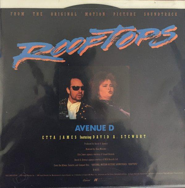 "5066 - Dave Stewart And Etta James - Avenue D - USA - 7"" Single - B-44333"