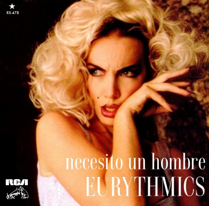"5085 - Eurythmics - I Need A Man - Mexico - Promo 7"" Single - RX478"